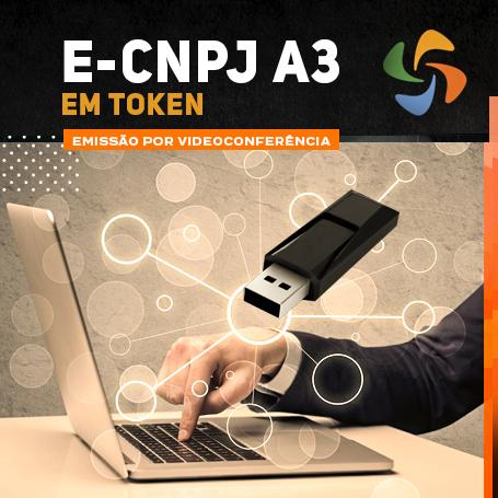 Videoconferência: Token e-CNPJ A3 (3 anos)