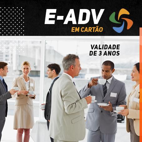 E-ADV 3 anos em Cartão