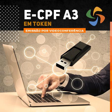 Videoconferência: Token e-CPF A3 (2 anos)