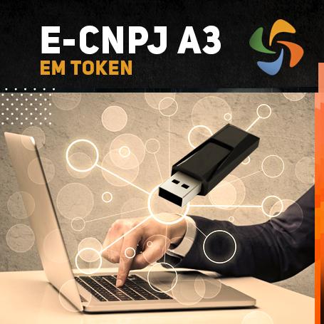 E-CNPJ A3 EM TOKEN (VALIDADE DE 01 ANO)