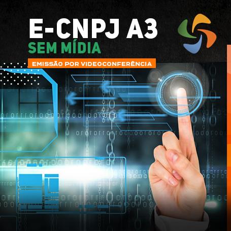 Videoconferência: e-CNPJ A3 (3 anos)