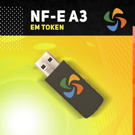 NFe A3 EM TOKEN (VALIDADE DE 03 ANOS)